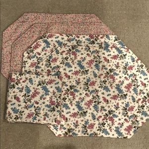 Handmade Quilted Reversible Placemats